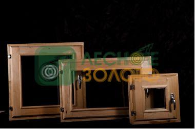 Оконный блок 50х60 двойное остекление (липа)