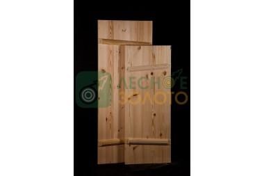 Дверь банная клиновая осина 700х1700