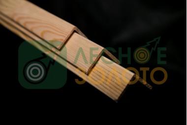 Уголок внешний, 26х26х2400, сорт А липа