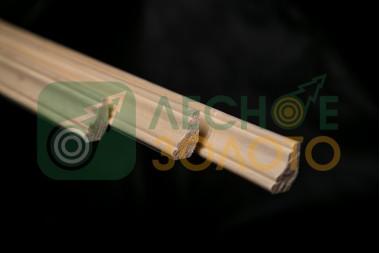 Плинтус Осина,(Галтель), 10х25х2900, сорт А*,  уценка 30%