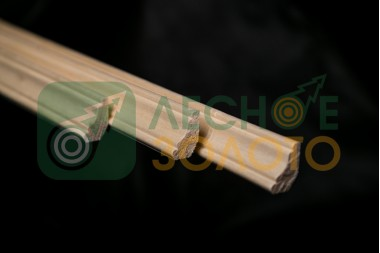 Плинтус Осина,(Галтель), 11х30х2500, сорт ВС,  уценка 30%