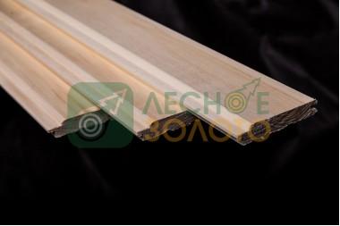 Вагонка Осина, 16х90х1500, сорт АВ