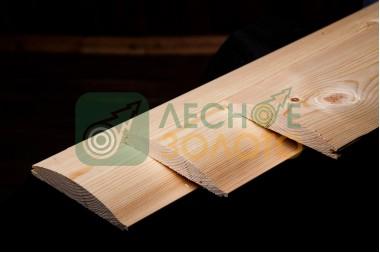 Блок - Хаус, лиственница 22х84х2500, уценка