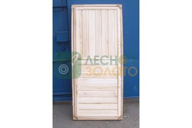 Дверь банная ДГ осина 700х1900 сорт ВС