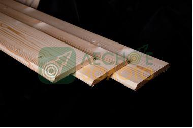 Имитация бруса, 18х135х3000, сорт А (софт-лайн) лиственница