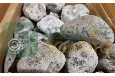 Камни (Серпентенит змеевик галт.-20кг)