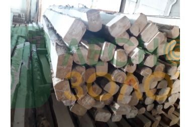 Лафет(полубрус) сосновый 100х120-130х3000