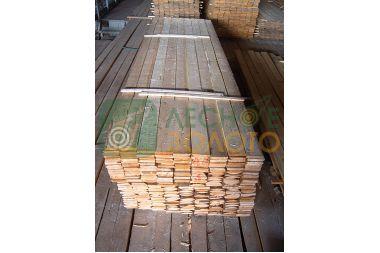 Доска обрезная сосна 25х100х4000 сухая