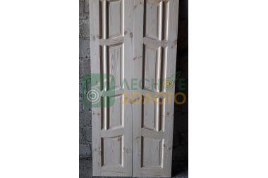 Дверь ДГ  Ампир 500+500х2000 с дверн.коробкой