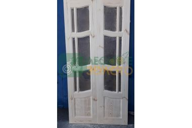 Дверь ДО  Ампир 400+400х2000 с дверн.коробкой