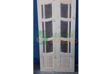 Дверь ДО  Ампир 450+450х2000 с дверн.коробкой