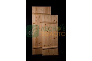 Дверь банная клиновая осина 800х1800, сорт А