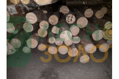 Жердь  (столб,стойка) сосновая 60-80х3000