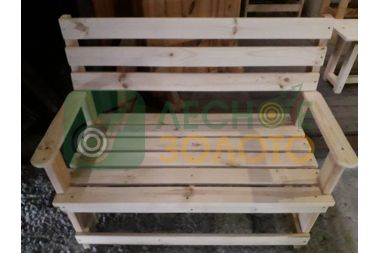 Скамейка  с подлокот.450х1200  (Л.З)