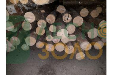 Жердь (столб,стойка) сосновая 80-100х2500 уценка