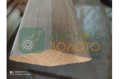 Брусок строганный ромбовидный, 30х70х6000 сорт 3 листв.