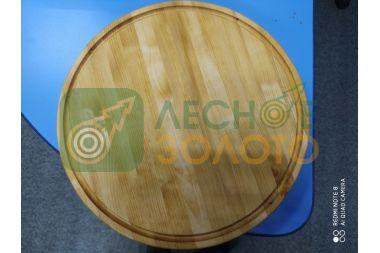 Доска разделочная диаметр 40 (толщ.40мм)