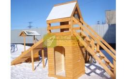 Изготовляем горки детские деревянные (песочницы)