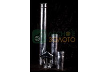 Дымоходная труба нерж.d 115х0,5мм-1метр