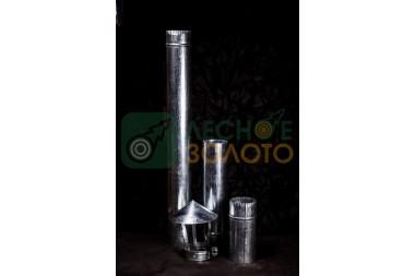 Дымоходная труба нерж.d 115х0,5мм-0,5метр