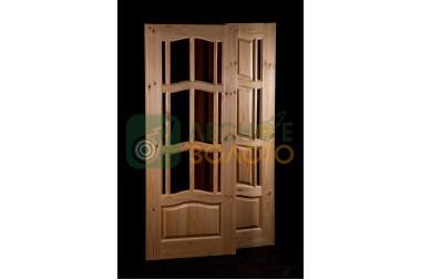 Дверь ДГО  Ампир 600х2000 с дверн.коробкой