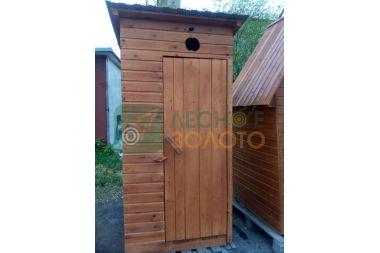 Туалет покрашеный с тумбой (М)