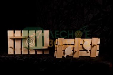 Вешалка шайка 4кр. (липа) (3)