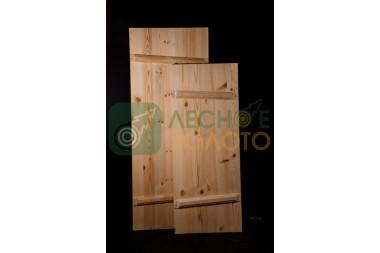 Дверь банная клиновая осина 680х1750