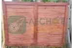 Заборный пролёт 1,5х2 (иммитация) Уценка