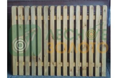 Забор 1000 (штакетник) Х (без сборки) Уценка