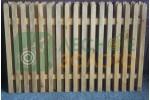 Заборный пролёт 1,5х2 (штакет 20х85) закруг. ЛЗ Уценка