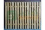 Заборный пролёт 1,5х2 (штакет 20х85) кос.срез. ЛЗ Уценка