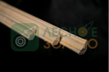 Плинтус Осина,(Галтель), 11х30х1000, сорт А,  уценка 30%