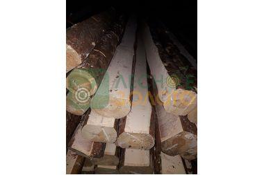 Лафет сосновый 65х80-100х2000