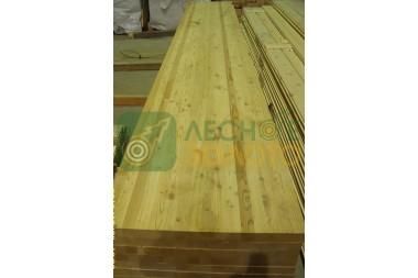 Щит мебельный, 20х600х3500, листв сорт АВС