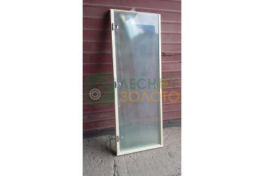 Дверь Стекло бронза 8мм 680х1800 коробка листв.