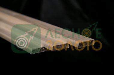 Доска для полка, осина 30х90х1200 сорт АВ