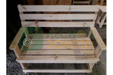 Скамейка  с подлокот.450х1000  (Л.З)